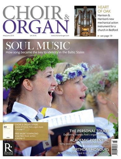 choir and organ may june 2018